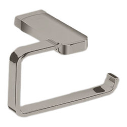 Toto - Toto YP630 Brushed Nickel Upton Paper Holder - Toto YP630#BN Bathroom Accessory Upton Toilet Paper Holder in Brushed Nickel Finish.