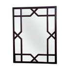 """Dorothy Draper Collection Trellis Mirror - This trellis mirror, inspired by America's most fabulous decorator, Dorothy Draper, is a great choice for Hollywood Regency or because of its classic """"X"""", more traditional or modern designs."""