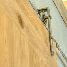 Modern Interior Doors by josh wynne construction