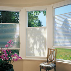Traditional Cellular Shades by Home Source Custom Draperies & Blinds