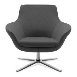 Coalesse - Coalesse | Bob Lounge Swivel Chair - Design by Pearson Lloyd, 2007.