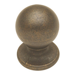 Hickory Hardware - Hickory Hardware 3/4 In. Oxford Antique Windover Antique Cabinet Knob - Refreshing in its simplicity, Rustic style highlights natural beauty and a rugged, resilient spirit.  Thanks to the unpretentious roots, organic textures, shapes and natural warmth, it�s become as popular in the heart of the city as it is out in the woods.