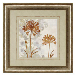 Paragon - Floral Oasis I - Framed Art - Each product is custom made upon order so there might be small variations from the picture displayed. No two pieces are exactly alike.