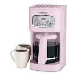 Cuisinart - Cuisinart DCC-1100PK Pink 12-cup Programmable Coffeemaker - Cuisinart created its Pink Series to help support breast cancer research. A portion of proceeds from the sale of every Cuisinart Pink Series product will be donated to this cause.