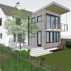 Contemporary Rendering by Gardner Mohr Architects LLC
