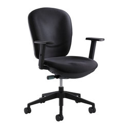 Safco - Safco 7205BL Rae Ergonomic Task Chair Multicolor - 7205BL - Shop for Chairs from Hayneedle.com! The Safco 7205BL Rae Ergonomic Task Chair is about to increase your work performance by infinity. It's a supremely comfortable chair with steel frame construction and a black nylon seat. The chair is designed with a synchro-mechanism with seat slide a height-adjustable and ratcheting back for comfort adjustable arms and casters for exceptional utility.About Safco ProductsSafco products were specifically developed to meet the changing needs of the business world offering real design without great expense. Each product is designed to fit the needs of individuals and the way they work by enhancing comfort and meeting the modern needs of organization in the workplace. These products encourage work-area efficiency and ultimately work-life efficiency: from schools and universities to hospitals and clinics from small offices and businesses to corporations and large institutions airports restaurants and malls. Safco continues to offer new colors new styles and new solutions according to market trends and the ever-changing needs of business life.