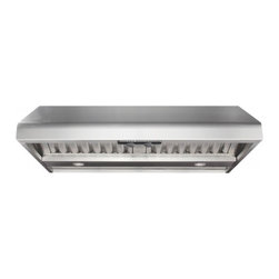 "Air King - Professional P1036 36"" Cabinet Mounted Hood with 300-1200 CFM  Single to 3 Speed - Air King brings you the 3036 Cabinet Mounted Hood with 300-1200 CFM Single to 3 Speed Controls and Professional grade 304 gauge stainless steel will not discolor over time Control panel with metal control knobs is located at the front of the hood for..."