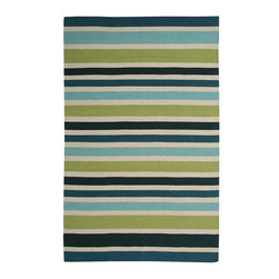 Rizzy Rugs - Solid/Striped Swing 2'x3' Rectangle Green Area Rug - The Swing area rug Collection offers an affordable assortment of Solid/Striped stylings. Swing features a blend of natural Green color. Flat Weave of New Zealand Wool Blend the Swing Collection is an intriguing compliment to any decor.