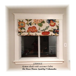 Custom window treatment - Custom window treatment with your ideas for your home