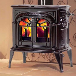 Vermont Castings Intrepid II Series 22'' x 24'' Catalytic Wood Burning Stove - With its compact design, the Intrepid II fits just about anywhere while providing excellent heating and efficiency.