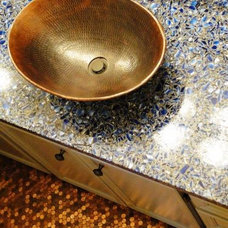 Vanity Tops And Side Splashes by Vetrazzo