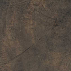 "Provenza - Tile, Cortex Matte, 6"" X 36"", 8.70 Square Feet Per Carton - The wood is cross-cut so that the material's very essence is visible in the sawn log. The concentric rings left by the passing years find new vigour in living-spaces, in renewed emotions."