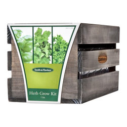 Smith & Hawken® Three Herb Grow Kit - All you need to grow fresh herbs, in one nice kit.