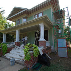 Traditional Exterior by PaintColorHelp.com Dallas
