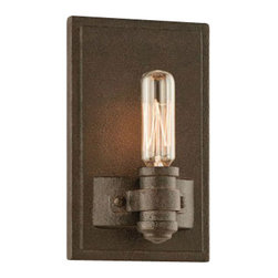 Troy Lighting - Pike Place 1-Light Wall Sconce - Pike Place 1-lt Wall Sconce