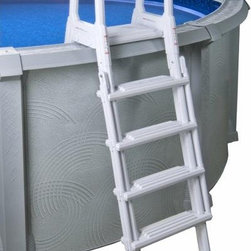"A-Frame Above Ground Pool Ladder by Splash - -Adjustable Height, designed for 48"" to 54"" deep Above Ground Pools"