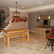 Traditional Basement by Iron River Building Group, Inc