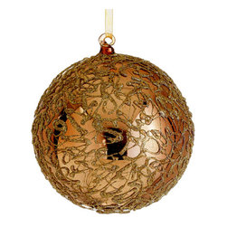 Silk Plants Direct - Silk Plants Direct Glass Swirl Pattern Ball Ornament (Pack of 4) - Pack of 4. Silk Plants Direct specializes in manufacturing, design and supply of the most life-like, premium quality artificial plants, trees, flowers, arrangements, topiaries and containers for home, office and commercial use. Our Glass Swirl Pattern Ball Ornament includes the following: