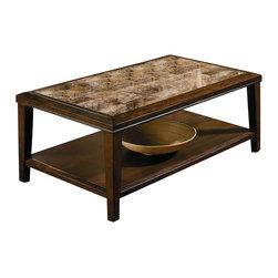 Homelegance - Belvedere Cocktail Table - Rectangular shape
