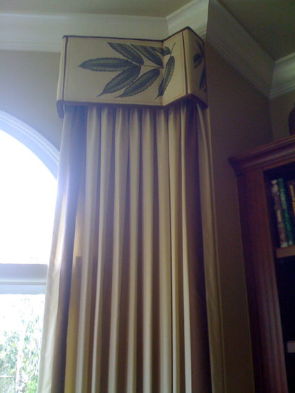 Eclectic Curtains by McDougall Interiors