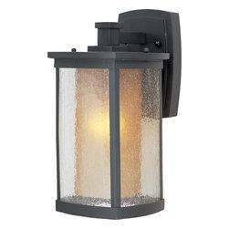 Maxim Lighting - Maxim Lighting 3153CDWSBZ Bronze Bungalow 1 Light Outdoor Wall Sconce - Product