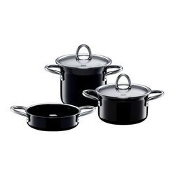 Silit - mini MAX, 5 pc. Set, Basic Black, 5 Pc - Set includes: