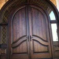 Contemporary Front Doors by Silverado Custom Door & Window