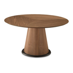 Palio-152 Dining Table, Walnut/Walnut