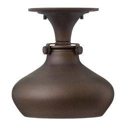 Hinkley Lighting - Hinkley Lighting 3148OZ Congress Oil Rubbed Bronze Flush Mount - Hinkley Lighting 3148OZ Congress Oil Rubbed Bronze Flush Mount