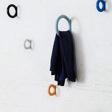 Modern Wall Hooks by Elisabeth Dunker
