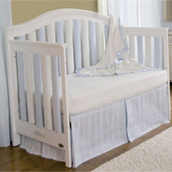 Go Mama Go Designs - Go Mama Go Designs Wonder Bumpers Blue & Cream 38 Pack - 718122807475 - Shop for Crib Bumper Pads from Hayneedle.com! About Go Mama Go Designs Wonder Bumpers Blue & Cream 38 PackScientifically proven to be safe Wonder Bumpers offer padded protection on the crib's hard rails without the risk of suffocation or entanglement. Compared to standard bumpers which have proven to be a suffocation risk Wonder Bumpers offer increased airflow and reduce CO2 re-breathing. The protect baby's head and body and inhibit toddlers from climbing out of their cribs. They also keep limps safely inside. Wonder Bumpers have a sleek vertical design that effortlessly zips onto your crib rails in a downward motion ensuring babies don't have access to the pull. With no ties to worry about they're easy to use and easy to wash.