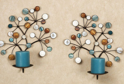 Candles And Candle Holders Capizia Wall Candleholder Set