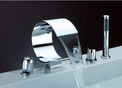 Contemporary Bathtub Faucets by faucetsuperdeal