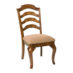 Standard Furniture - Standard Furniture Crossroad Side Chair in Mid-Tone Brown (Set of 2) - Side Chair in Mid-Tone Brown belongs to Crossroad collection by Standard Furniture. Crossroads captures the charm and elegance of Country French styling in a new, cleanly tailored interpretation.