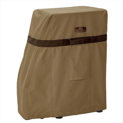 Classic Accessories - Classic Accessories Covers - Hickory Smoker Covers - Rugged Weather 10 fabric, treated with a wipe-clean inside coating, and a laminated waterproof layer