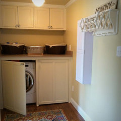 traditional laundry room by Amy Hopkins Designs