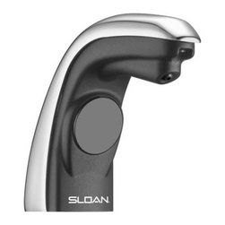 Sloan - Sloan 7000004 Chrome  Sensor-Operated Deck-Mount Liquid Soap Dispenser - Sensor-Operated Deck-Mount Liquid Soap Dispenser The SJS-1650 sensor-operated soap dispenser is the next evolution in dispenser technology. It uses a refill that simplifies replacement and reduces waste. Its battery-driven sensor technology delivers a pre-measured amount of liquid soap per application. Features:  Sensor-technology activates soap dispensing Hands-free operation promotes hygiene Easily attaches to deck surface Uses four replaceable D batteries that operate soap dispenser for up to 75,000 activations Low soap level indicator Easy loading refills Soap Bottle Model SJS-1651 (Sold Separately)  The contemporary design complements all restrooms and creates a superior impression.