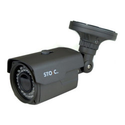 STOiC Technologies - STOiC Technology Long Range Day / Night Bullet with Zoom Lens - STA-1100 Weatherproof Bullet Camera with Manual Zoom Lens, 720TVL, 960H Resolution with 150 Feet of Night Vision! By STOiC Technologies
