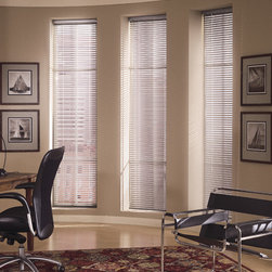 """Levolor - Levolor Mark I 1 3/8-inch 8-Gauge Metal Blinds: Specialty Finishes - The Mark I 1 3/8"""" blind represents Levolor's premier quality horizontal blind.  Mark I blends style with functionality."""