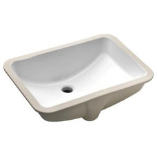 Ladena Undercounter Lavatory with Overflow in White-K-2214-0 at The Home Depot