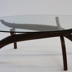 Fine Mod Imports - Spider Coffee Table, Walnut - Features:
