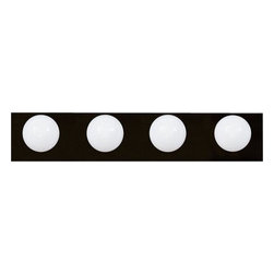 Livex Lighting - Livex Bath Basics Bath Light Bronze -1224-07 - Livex products are highly detailed and meticulously finished by some of the best craftsmen in the business