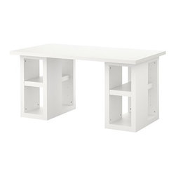 IKEA of Sweden - VIKA AMON/VIKA ANNEFORS Table - Table, white