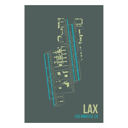 08 Left - 008 Left LAX - Los Angeles Metal Print - As good as it gets. Ready to hang. Absolutely stunning and tough as rocks.