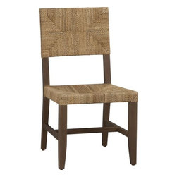 Fiji Side Chair - I love this chair. I think it will pull up comfortably to almost any table you want to pair it with.
