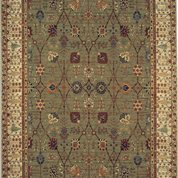 Karastan - Karastan Original Karastan 700-00712 (Paysage) 10' x 14' Rug - Inspired by prized museum pieces and antiques, the Original Karastan Collection of rugs is recreated from Persian, Turkoman, and other handwoven orientals while maintaining authenticity to the finest detail. Each rug is Axminster woven through-the-back of the finest imported skein-dyed and lustre washed worsted wool yarns. Empress Kirman is part of the Original Karastan collection.
