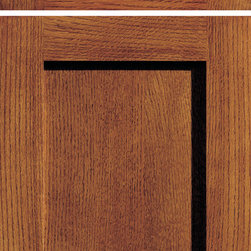 "Dura Supreme Cabinetry - Dura Supreme Cabinetry Craftsman Panel Cabinet Door Style - Dura Supreme Cabinetry ""Craftsman Panel"" cabinet door style shown in Quarter-Sawn Red Oak with ""Mission"" finish."