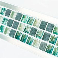 Modern Tile by Mosaic Village