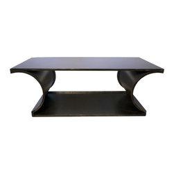 NOIR - NOIR Furniture - Alec Coffee Table in Metal - GTAB153MT - Features: