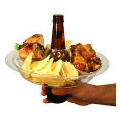 The Go Plate, Reusable Food And Beverage Holder